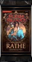 Flesh and Blood: Welcome to Rathe Unlimited Booster Pack   Black Star Games   UK